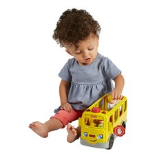 Fisher-price FMT28 lp large vechile bus se svenska