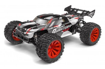 Maverick Quantum+ XT Flux 3s 1/10 4WD stadium truck red
