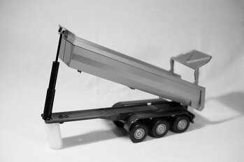 Emek gravel trailer grey
