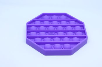Fidget Pop Toy Hexagon Purple