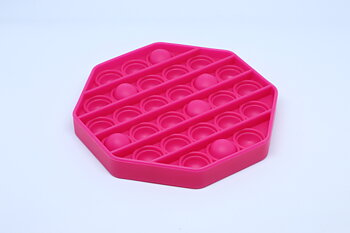 Fidget Pop Toy Hexagon Pink