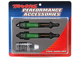 Traxxas 7462G Shocks Green GTR XX-Long without springs (2)