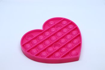 Fidget Pop Toy Heart Pink