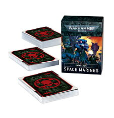 Warhammer 48-02 Datacards: Space Marines