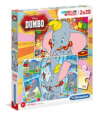 Clementin 24756 Disney Dumbo 2x 20 Pieces