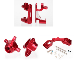 Traxxas 4x4 Aluminum upgrade 1 red