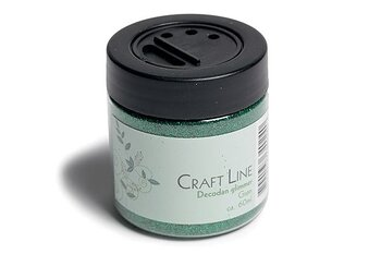 Decorative glitter green 60 ml 0,2 mm