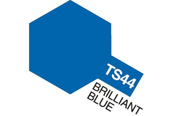 Tamiya TS-44 Spray Musta (Brilliant Blue)