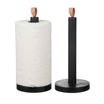Household paper holder wood