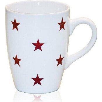 Mugg Star, röd