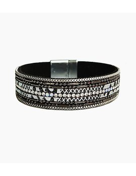 Fashion Black Alloy  Bracelet