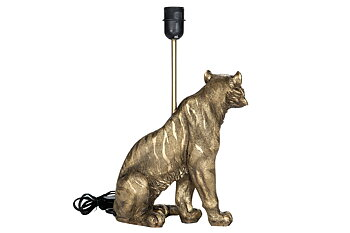 Lampa Tiger Mörkguld 23x28/41cm