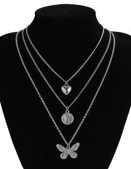 Halsband Pärlor och Kedja