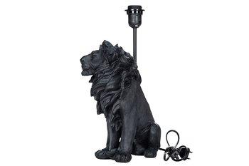 Lampa Lejon Poly Svart 25x32/42cm