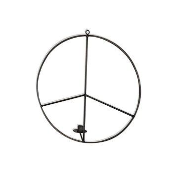 Väggljusstake Vino Peace, 50 cm