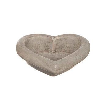 Hjärta Betong, 25x25 cm