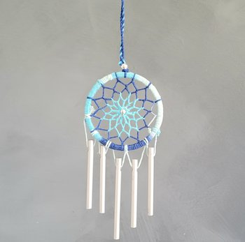 Dreamcatcher wind chime Blue
