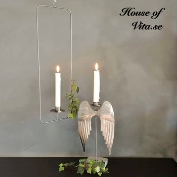 Floating Candlestick Gray