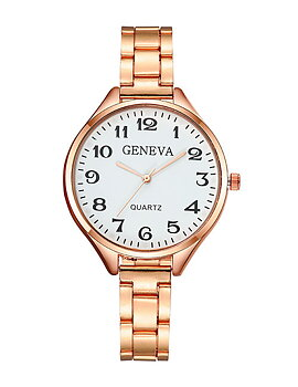 Klocka Golden Beauty, rose gold