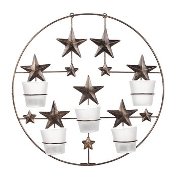 Forging Wall light lantern Star, 40 cm