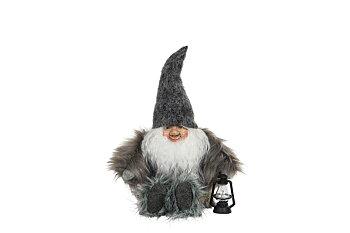Tomte Grå, sittande, 35 cm