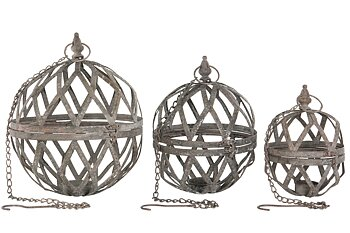 Candle ball / Hang 25x31cm S / 3