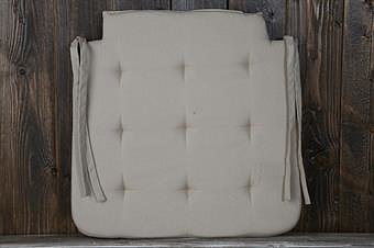 Stolsdyna beige 42x42 cm