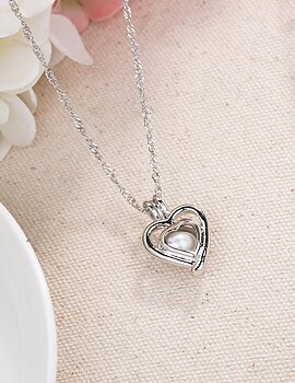 Halsband Fashion Love Pearl