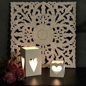 Tempeltavla Flower, 45x45