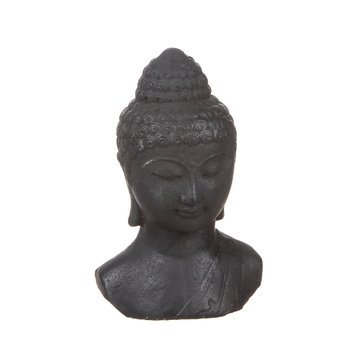 Buddha betong svart