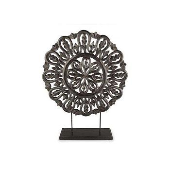Tempeltavla Italy svart, 49 cm