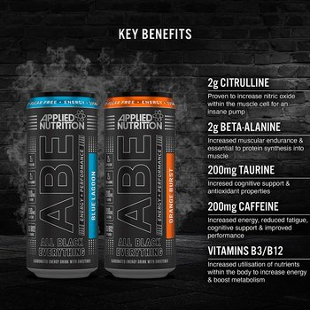 Applied - A.B.E. Energy Drink, 330ml