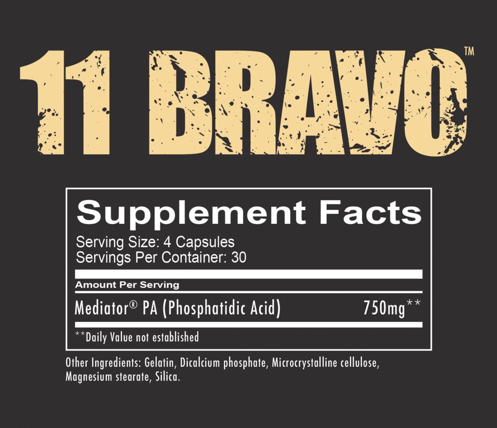 11 BRAVO - Muscle Builder - Redcon1 Scandinavia