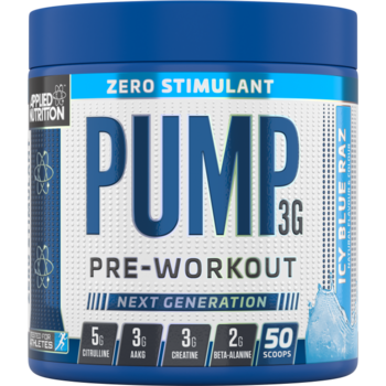 Applied - Pump 3G Zero Stimulant, 375g