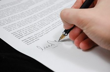 Sponsoravtal mellan förening och företag