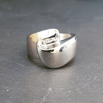 Ring Lillith Silver