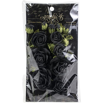 Graphic45 - Rose Bouquet - Photogenic Black