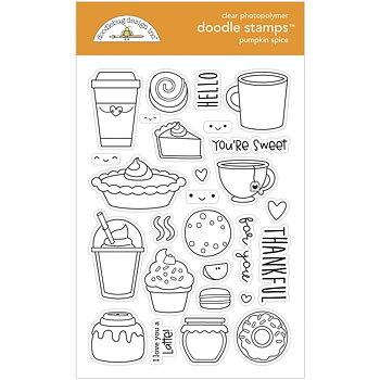 Doodlebug - Doodle stamps- Pumpkin spice