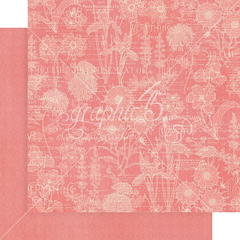 "Graphic45 - Blossom-  baspapper Patterns & Solids 12"" x 12"""