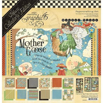 Graphic45 - Mother Goose- DCE