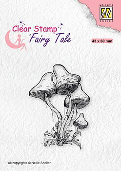 Nellies Choice - Clearstamp - Silhouette Fairy Tale Nr23
