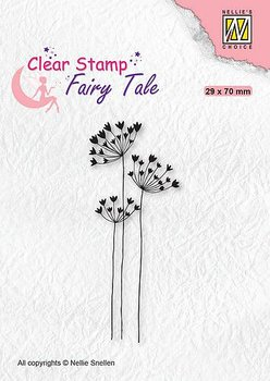Nellies Choice - Clearstamp - Silhouette Fairy Tale Nr30