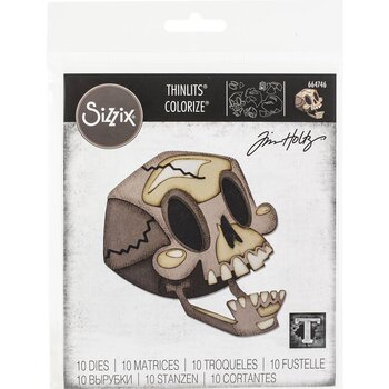 Sizzix - Dies Thinlits Colorize - Skelly
