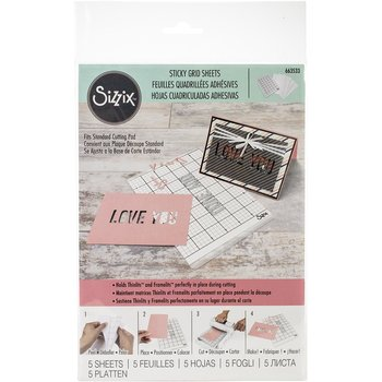 Sizzix-  Sticky Grind Sheets