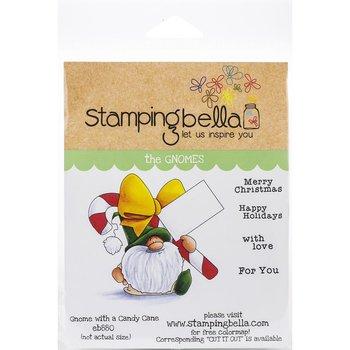 StampingBella - Gnome W/A Candy cane