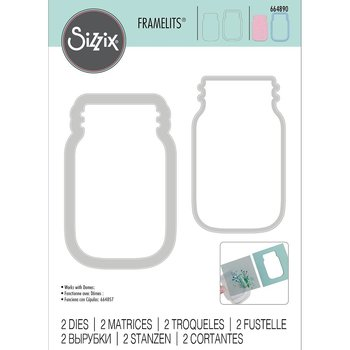 Sizzix - Dies Framelitts - Jar