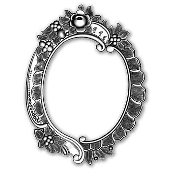 Sizzix - 3D Embossing Folder - Floral Frame