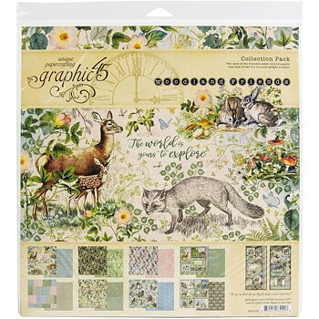 Graphic45 - Collection Pack - Woodland Friends 12x12
