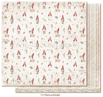 Maja Design -  Traditional Christmas- Merry and bright