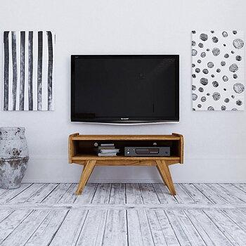 RETRO TV-benk